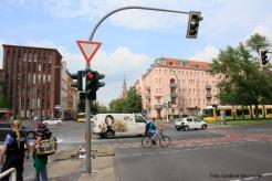 Unfall Kreuzung Osloer Strasse Prinzenallee (10)