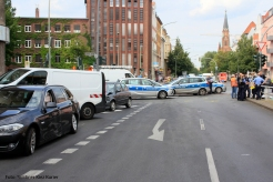Unfall Kreuzung Osloer Strasse Prinzenallee (12)