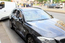 Unfall Kreuzung Osloer Strasse Prinzenallee (5)