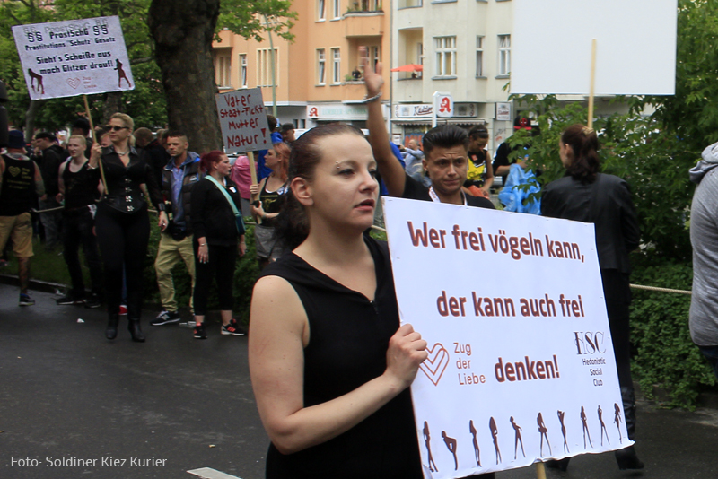 Zug der Liebe berlin 2017
