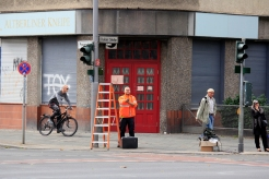 Blindenampeln erneuert Prinzenallee Ecke Osloer Strasse (2)