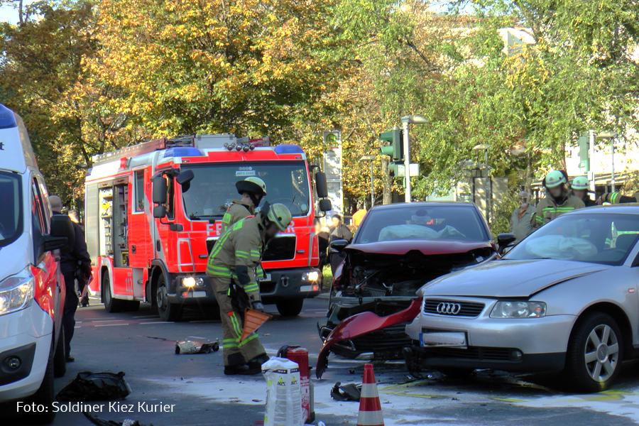 Unfall Prinzenallee Ecke Osloer Strasse (2)