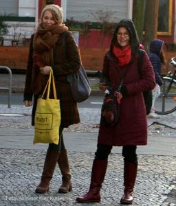 Birgit Bogner Melanie Stiewe vom WohnRaum Projekt Soldiner Kiez