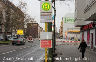 Buss BVG Haltestelle Prinzenallee 2