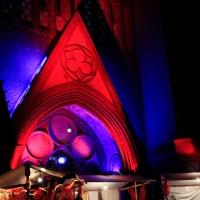 Tauschparty an der Kirche