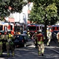 Frau nach Feuer in der Soldiner Straße tot aufgefunden