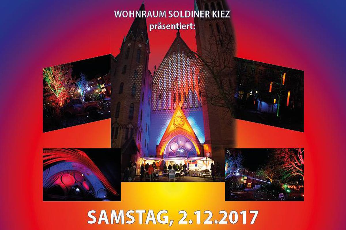 Luminale Soldiner Kiez Weihnachtslieder singen on tour