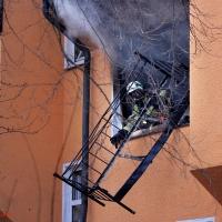 Bei schwerem Wohnungsbrand in der Koloniestraße alle unverletzt