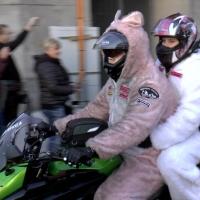 Motorradkorso für #Berlinbrennt