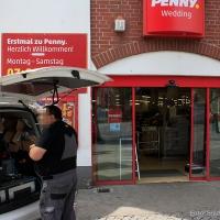 Kein Überfall bei Penny