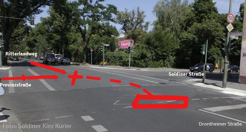 polizei einsatzfahrzeug rammt PKW drontheimer provinzstr soldiner.jpg