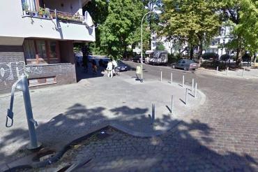Pumpe soldiner Straße ecke Grünthaler straße