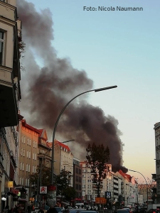 feuer Badstraße gesundbrunnen