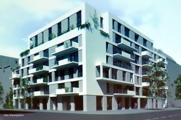 Neubau Gotenburger Straße Prinzenallee