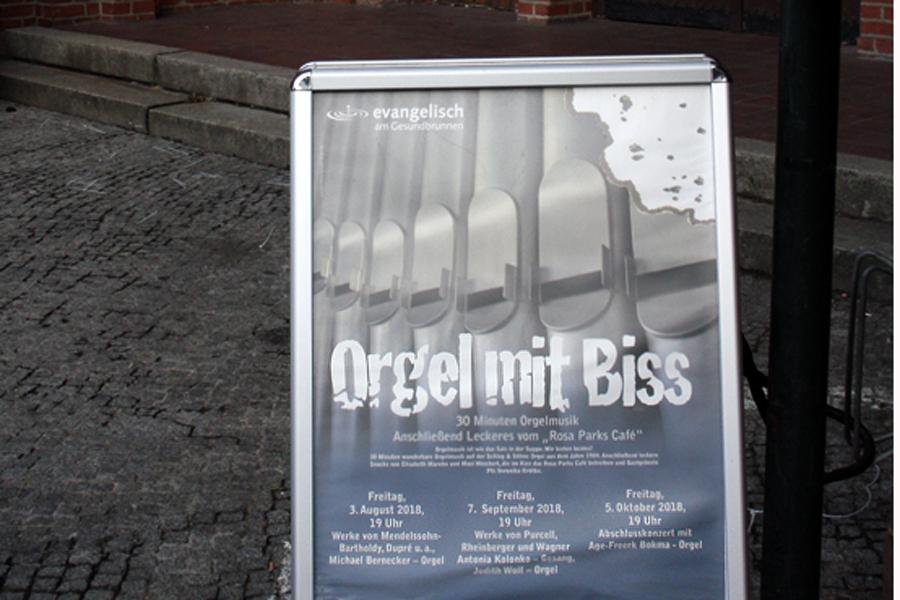 Orgel mit Biss Stephanus kirche 2