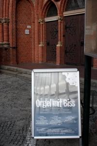 Orgel mit Biss Stephanus kirche