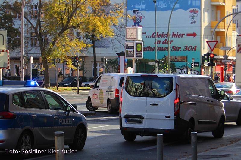 Polizei jagt Handyautofahrer