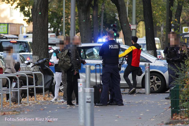 Polizei stoppt Streit