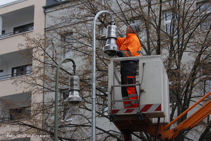 Soldiner Straße Straßenbeleuchtung (1)