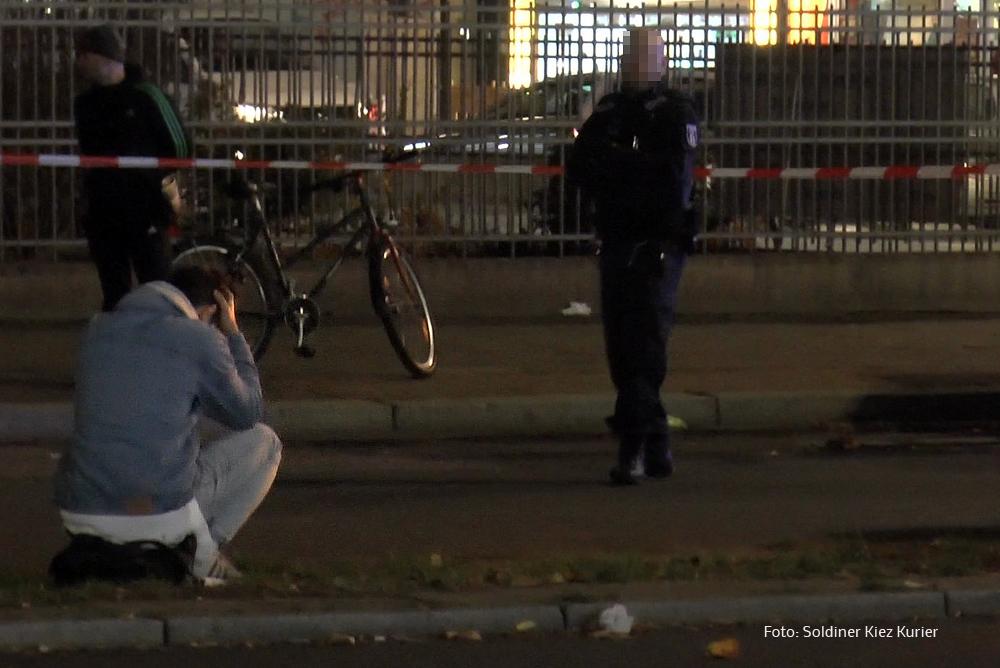 Unfall verletzt Pankstraße (1)