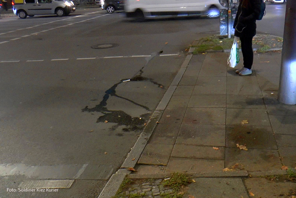 Unfall verletzt Pankstraße (4)
