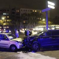 Schwer verletzt bei KreuzungsUnfall am U-Bahnhof Osloer Straße