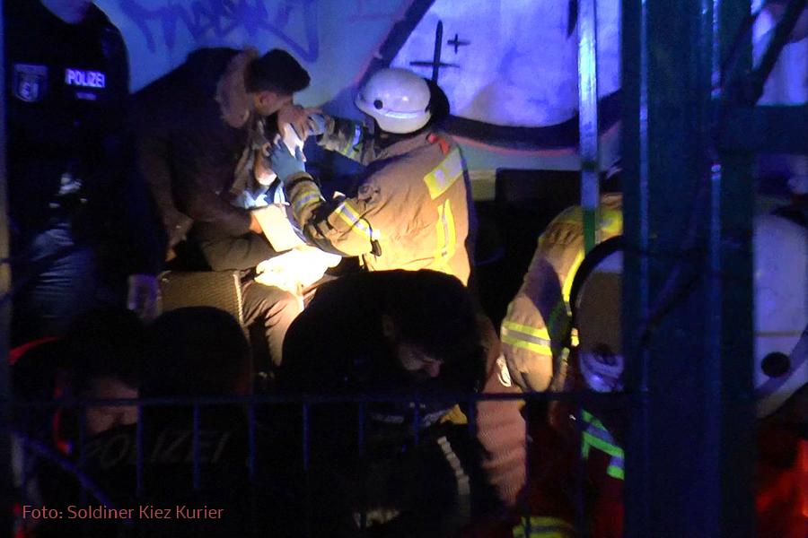 Verletzte Osloer Straße Prinzenallee (7)