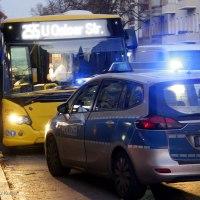Busfahrerin angegriffen