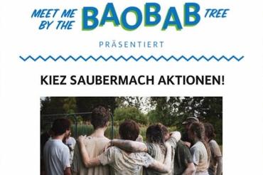 Saubermachen Soldiner Kiez meet Baoba