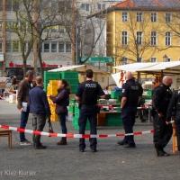 Messeropfer vom Leopoldplatz kämpft um sein Leben