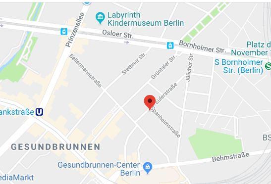 Schriftstellerhaus Spanheimstraße Gesundbrunnen