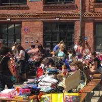 Baby- und Kindertrödelmarkt in der Nachbarschaftsetage Osloer Straße