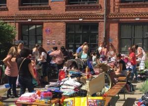 Kinder Trödelmarkt NachbarschaftsEtage