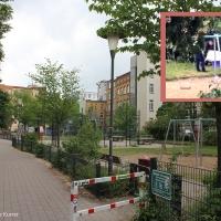 Toter Mann auf Spielplatz Drontheimer Straße gefunden