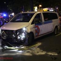 Schwerer Unfall mit Schwerverletzten Osloer Straße Ecke Grüntaler