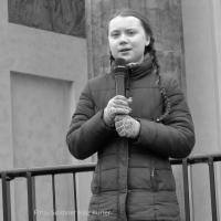 Greta Thunberg kommt zu Fridays for Future nach Berlin