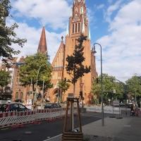 Fertigsstellung des ersten Bauabschnitts in der Soldiner Straße