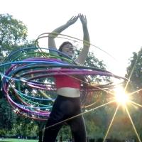 Hula Hoop im Humboldthain