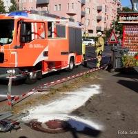 Tödliche Gefahr Osloer Straße