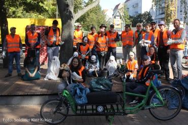 Müllkarawane soldiner keiz (1)
