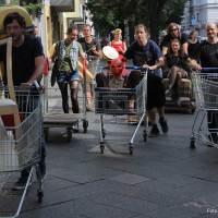 Müllsammelaktion Pankegrünstreifen mit Steffi