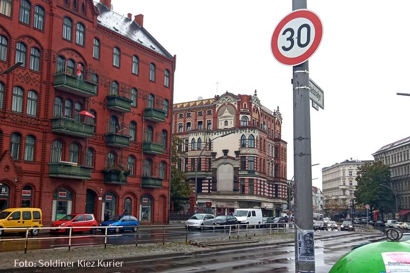 Badstraße Tempo 30