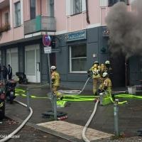 Feuer in der Grüntaler Straße