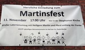 Martinsfest 2019 Soldiner Kiez
