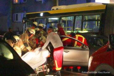 schwerer Unfall Wollankstrasse (1)