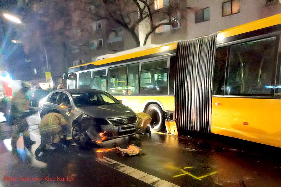 Unfall wollankstraße Berlin