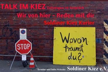 Talk im Kiez Soldiner Kiez Zeitzeugen