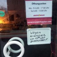 Knusperbäcker wegen drohender Gesundheitsgefährdung dicht