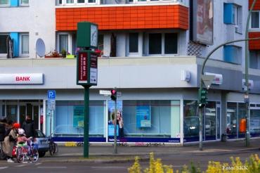 Banküberfall nähe Gesundbrunnencenter