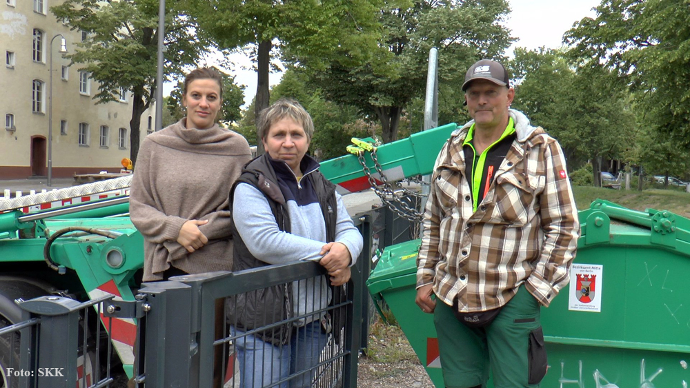 Müllcontainer Soldiner Kiez